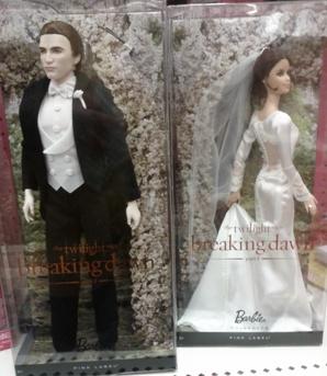 Twilight Wedding Barbie Bella and Edward