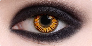 Twilight Gold Vampire Contacts